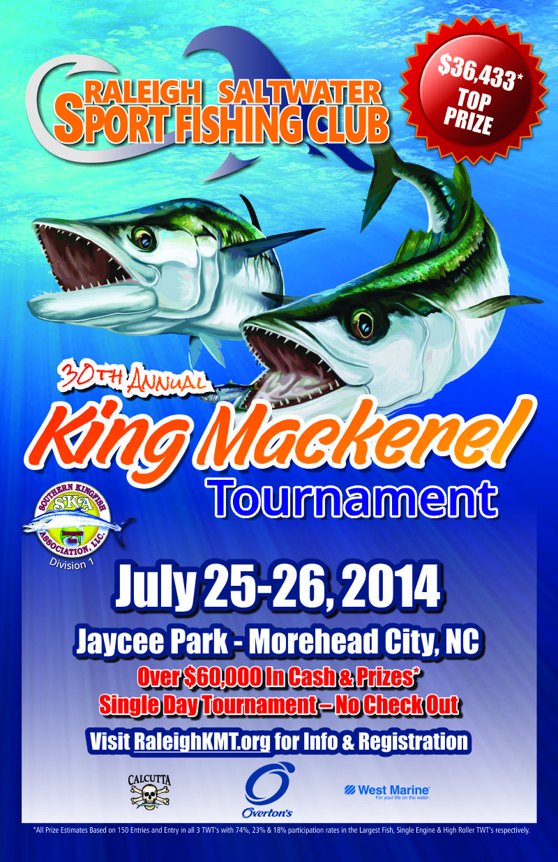 king mackerel tournament poster